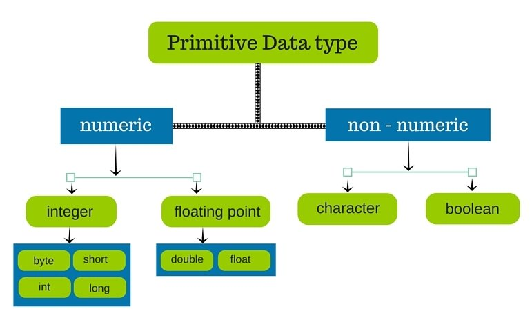 Data Types In Java,Learn Java Online,Java Topics,Learning Java Online