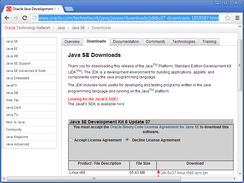 install java accept license-agreement