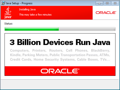 install java wait for jre installation to complete